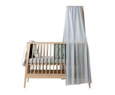 Himmel für Babybett Linea by Leander® In verschiedenen Farben erhältlich, Misty Blue (42)
