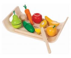 PlanToys Obst & Gemüse inkl. Schneidebrett