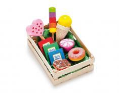 Erzi® Kaufladen Sortiment Süßwaren