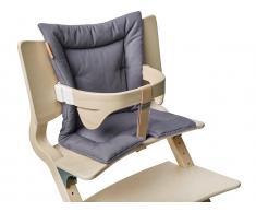 Sitzkissen für Hochstuhl Dark Grey, Leander®