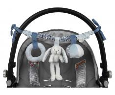 Little Dutch Kinderwagen-Kette Hase, Adventure Blue