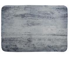 Lottas Lable® Spielteppich SOFTIE WOOD Dark Grey, 130x180cm