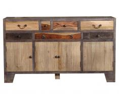 TheWoodTimes Sideboard Mango Holz Houston