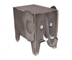 Spielzeugtruhe Elefant Sitztruhe, Werkhaus Vierbeiner, Hocker