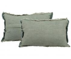 Canett Elisa Dekokissen Hellgrün gewebt 30x52cm