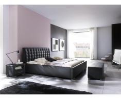 Polsterbett ISA Comfort Schwarz, Meise Möbel in verschiedenen Größen erhältlich