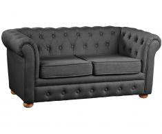 Kindersofa Chesterfield Grau Kids Concept