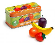 Erzi® Kaufladen / Küchen Sortiment Obstmischung in der Dose