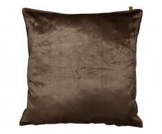Van Baal Kissen Velvet Samt Bronze, 45x45cm