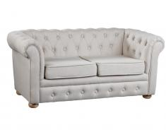 Kindersofa Chesterfield Beige Kids Concept