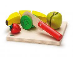 Erzi® Kaufladen / Küchen Sortiment Schneidset Obstsalat