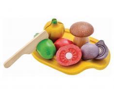 PlanToys Gemüseset inkl. Schneidebrett