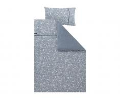 Little Dutch Kinderbettwäsche, Adventure Blue Deckenbezug 100x140cm; Kopfkissenbezug 40x60cm