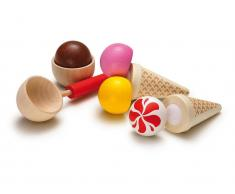 Erzi® Kaufladen / Küchen Sortiment Eis-Party