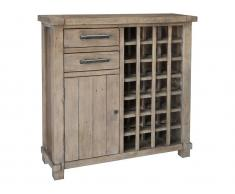 TheWoodTimes Weinregal Kiefer Industrial