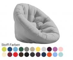 Karup Futonsessel NIDO 90x180cm Stoff Lonetta Farbe auswählbar