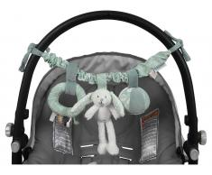 Little Dutch Kinderwagen-Kette Hase, Adventure Mint