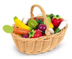 Janod® Obst- und Gemüse Sortiment im Korb