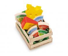 Erzi® Kaufladen / Küchen Sortiment Käse, klein