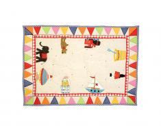 Kleiner Spielteppich Spielzeug 110x74cm, Win Green