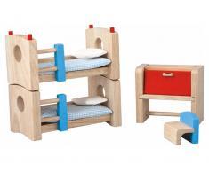 PlanToys Puppenmöbel Kinderzimmer NEO