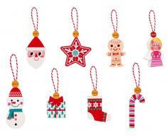Janod® Advents- und Weihnachtsanhänger