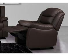 Relaxsessel Fernsehsessel Leder PLITON - Braun