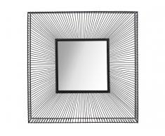 Wandspiegel Industrial Style ANASTASIA - 90,5x90,5 cm