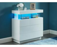 Highboard Hochglanz LED FABIO