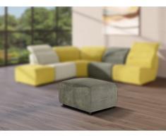 Hocker für modulierbares Sofa SYMPOSION - Stoff - Anthrazit