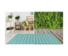 Teppich Indoor & Outdoor SIESTA - 200 x 290 cm - Hellblau