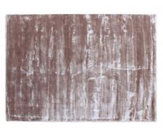 Teppich handgewebt IRENE von SIA - Viskose - 160x230cm - Taupe