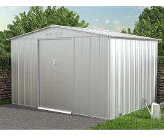 Gartenhaus Gerätehaus LINUS - Stahl - 7,82 m²