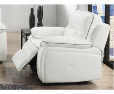Relaxsessel Fernsehsessel Leder CATANE - Weiß