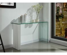 Wandkonsole Glas Hochglanz MANDY