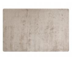 Teppich handgewebt YUMI von SIA - Viskose - 160x230cm - Tonfarben