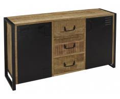 Sideboard NOTTINGHAM - 2 Türen & 3 Schubladen