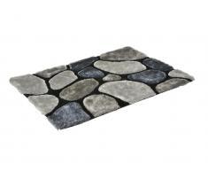 Hochflor-Teppich Pietra - Grau - 160x230cm