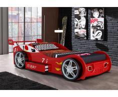 Kinderbett RUNNER + Lattenrost - 90x200cm - Rot
