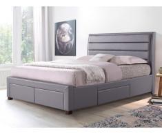 Bett mit Stauraum ABRAMO - 160x200cm