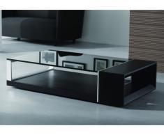 SALE - Couchtisch Glas Holz Design Domi