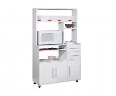 Küchenbuffet Buffetschrank Astrid - Weiß