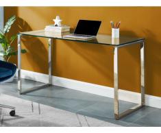 Schreibtisch Glas & Metall FREYA