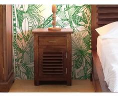Nachttisch Massivholz Bali II