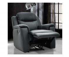 Relaxsessel Fernsehsessel Leder Evasion - Grau