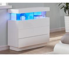 Highboard Hochglanz LED FABIO
