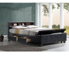 Bett mit Stauraum Saveni - 160x200 cm