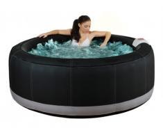 Whirlpool aufblasbar Bcool III - 4 Personen - Schwarz