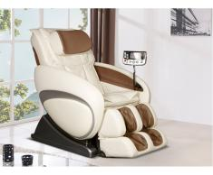 Massagesessel Moon - Zero Gravity Technik - Beige
