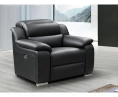 Relaxsessel Fernsehsessel elektrisch ARENA III - Leder - Schwarz